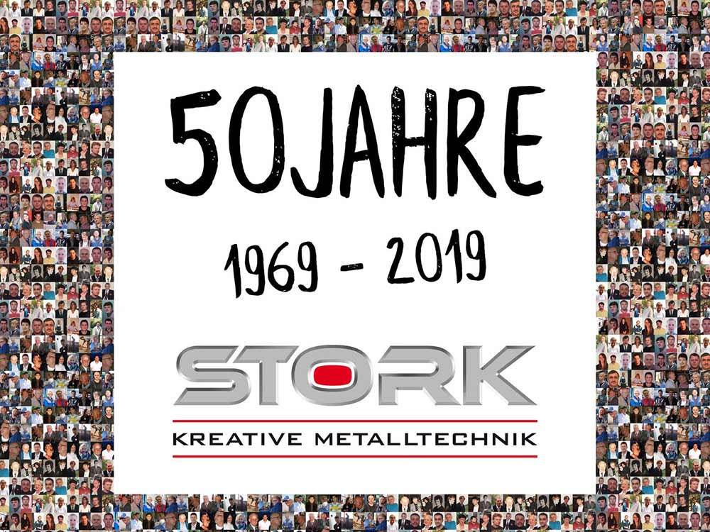 Stork | Kreative Metalltechnik | News | 50 Jahre