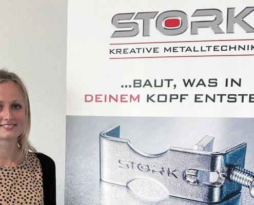 Stork | Kreative Metalltechnik | News | Stefanie Heitmann | Betriebswirtin
