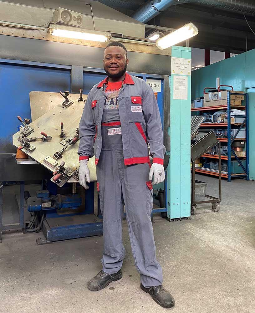 Stork | Kreative Metalltechnik | News | Maschinen- und Anlagenführer
